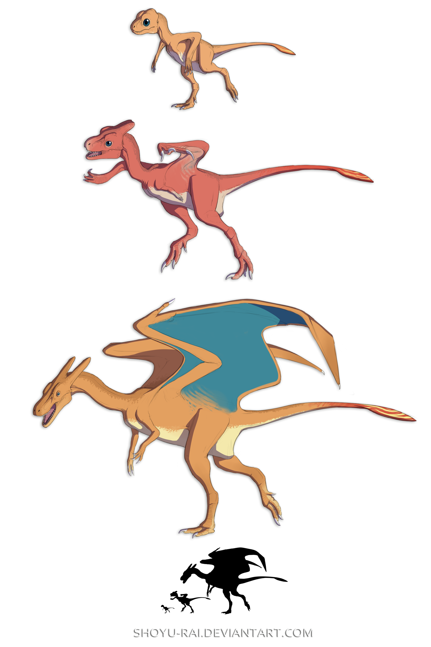 vector free library Charizard line by Shoyu