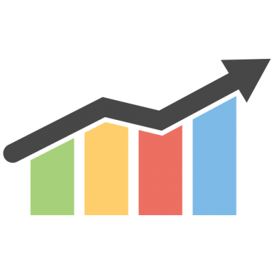 image royalty free stock Download business growth chart. Graph clipart.