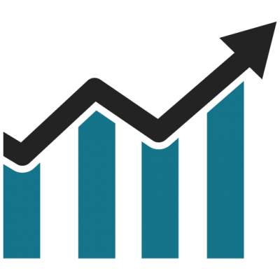 image freeuse Graph clipart icon bar. Download business growth chart