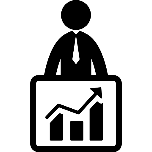 clip art royalty free library Improving icon . Chart clipart business improvement.
