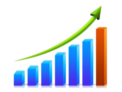 jpg stock Business chart png images. Growth clipart clipart transparent background