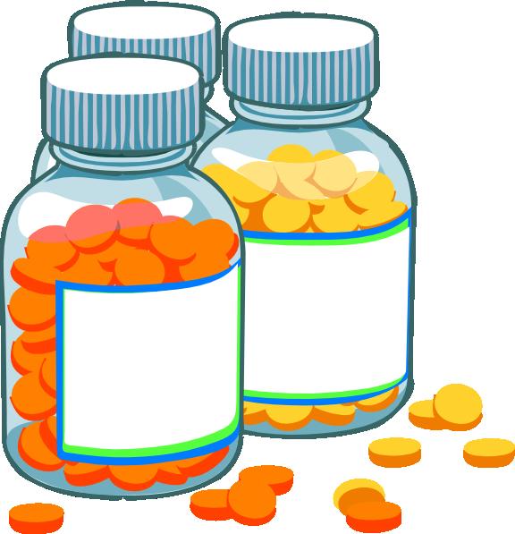 png freeuse Blank Medicine Bottles Clip Art At Clker Com Vector Clip Art Online