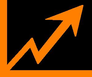 svg download Chart arrow . Vector charts clipart