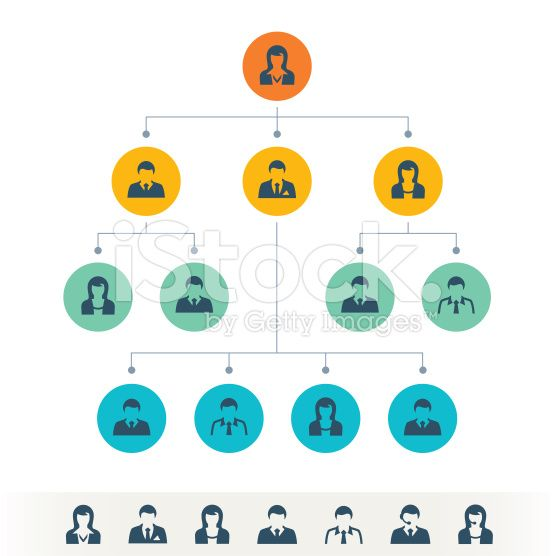 picture free download Business with men and. Vector chart organization