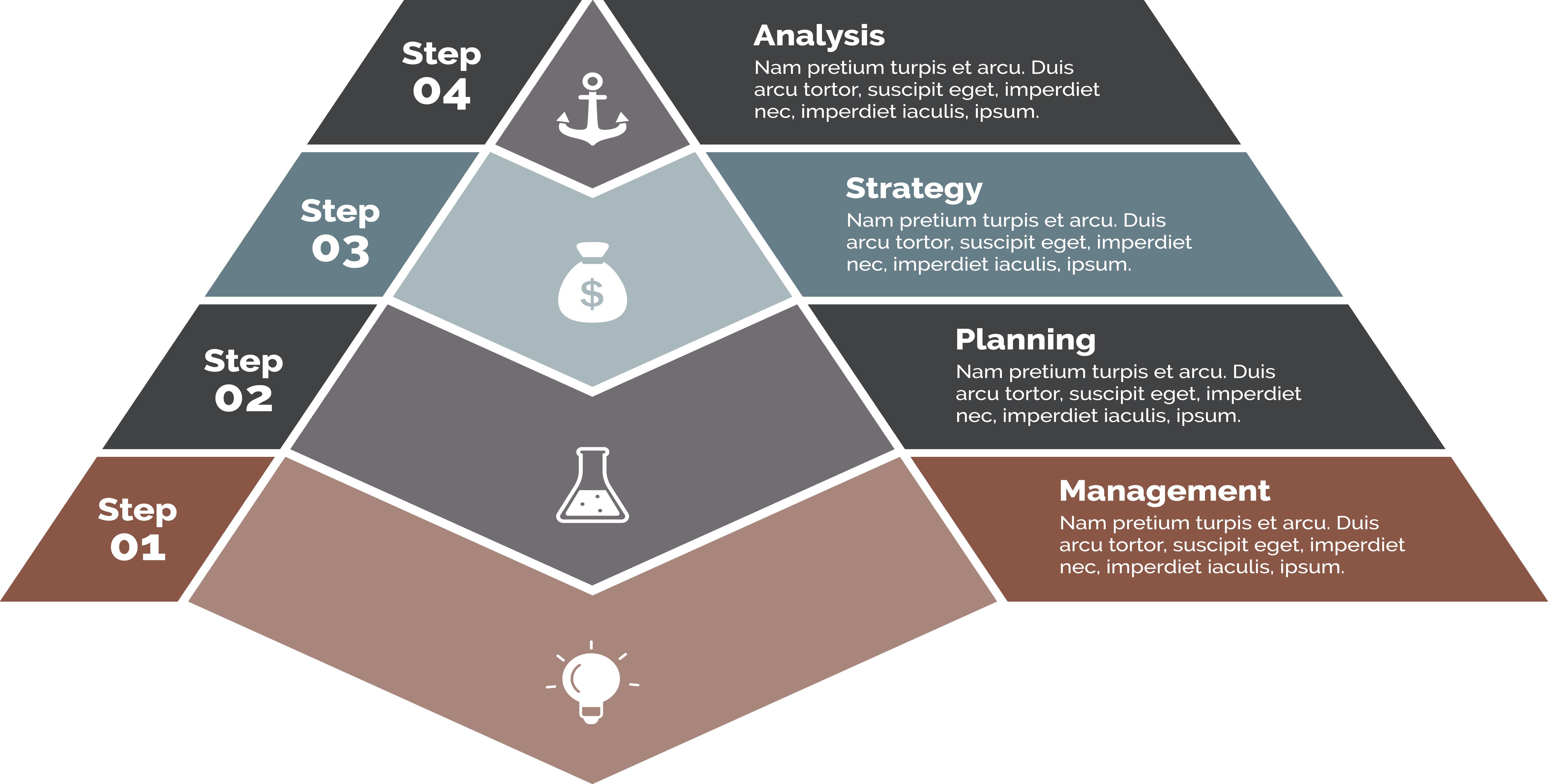 freeuse library Diagram Pyramid Presentation Chart