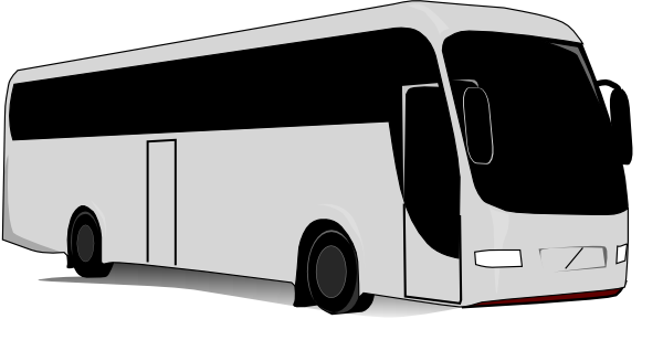 graphic royalty free download Charter Bus Clip Art at Clker