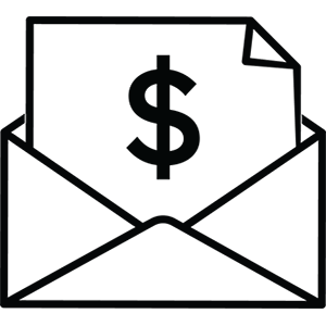svg download Paycheck free download best. Check clipart paycheque.