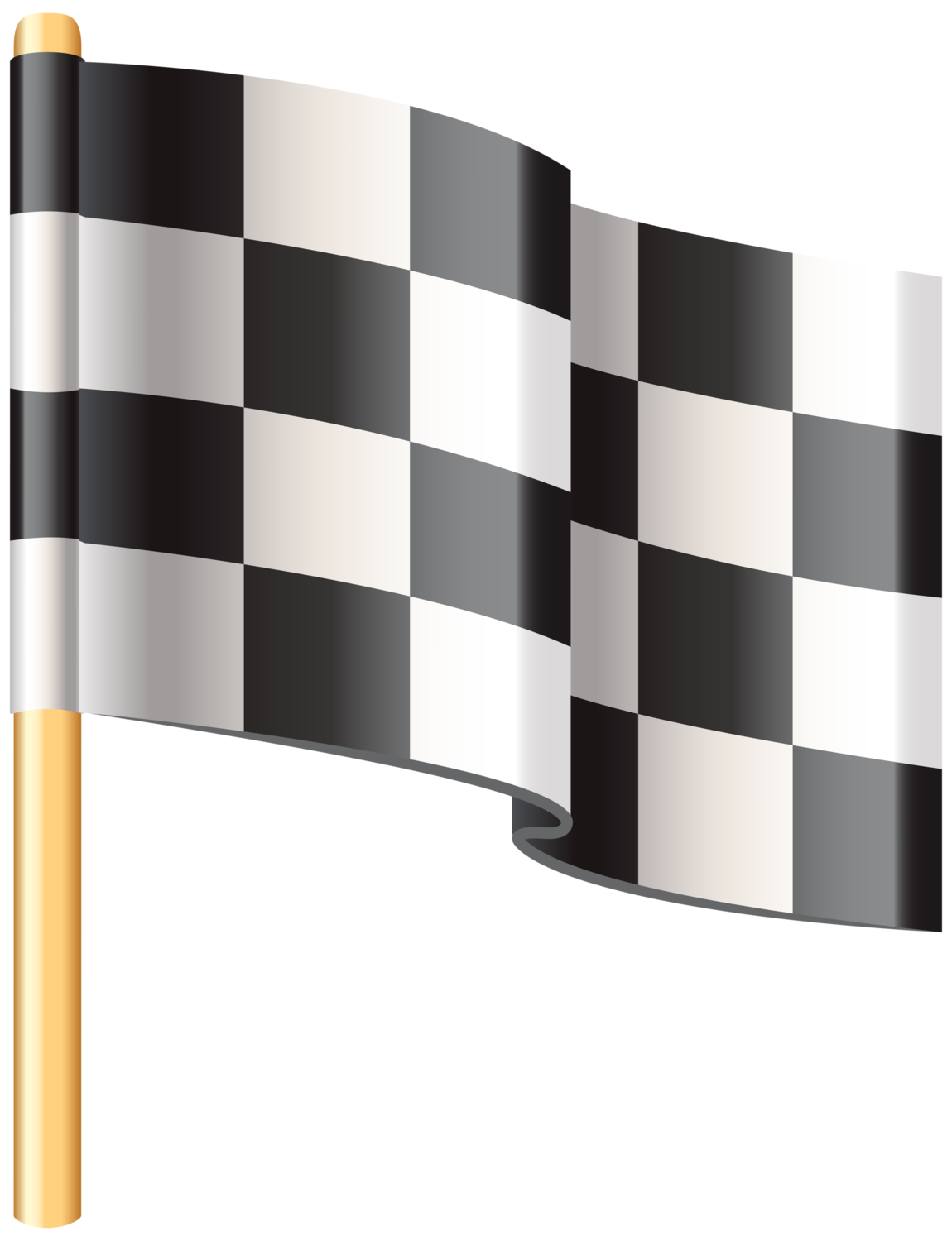 vector transparent Checkered clipart. Flag png clip art.