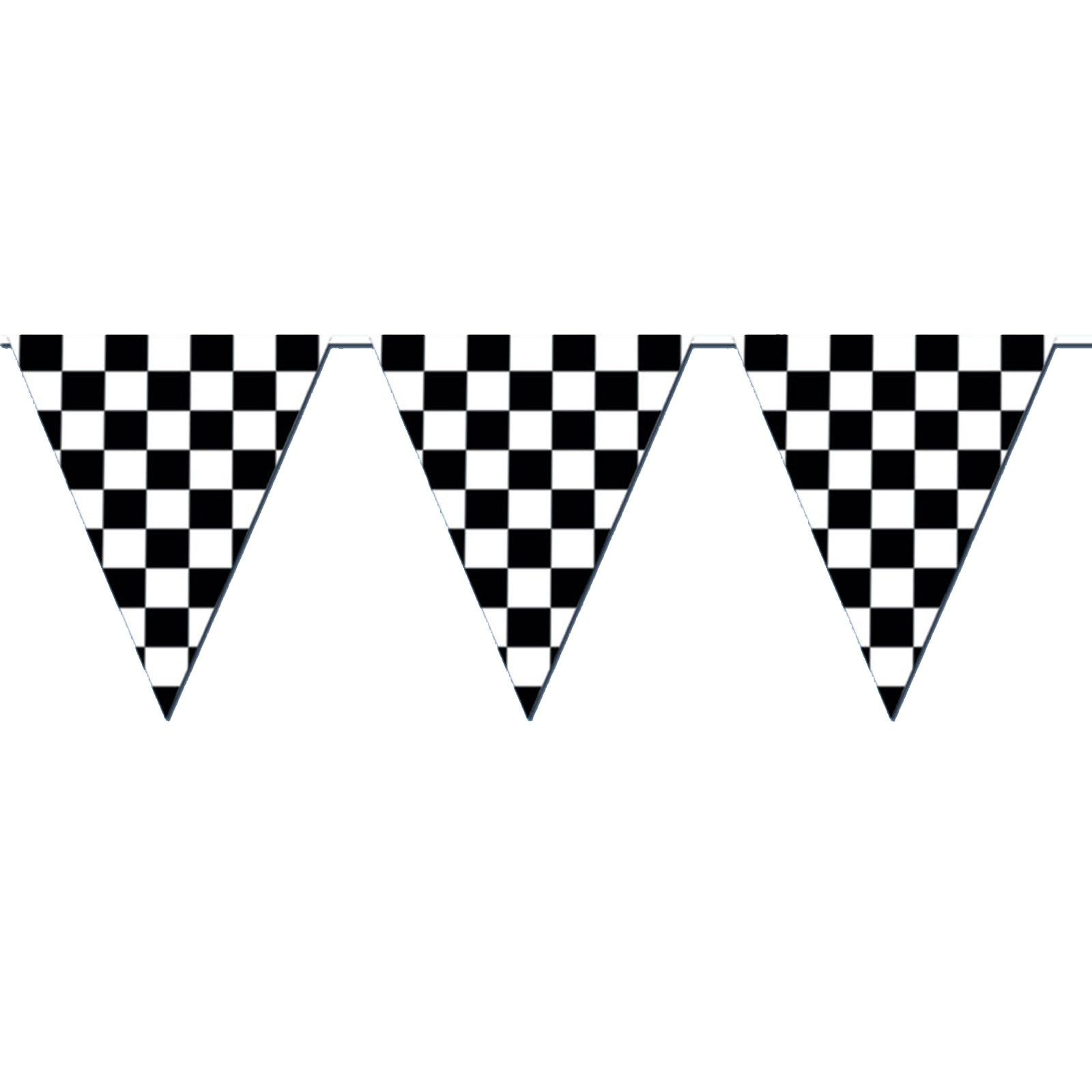 banner black and white library Checkered clipart mario kart. Racing race car banner