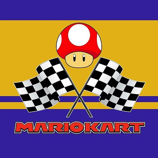 clipart royalty free library Chequered flags crafts nintendo. Checkered clipart mario kart