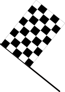 png royalty free download Checkered Flag Clip Art at Clker