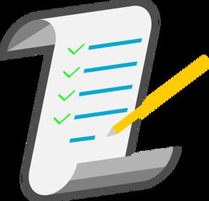 image freeuse download Free vectors png clipartix. Checklist clipart.