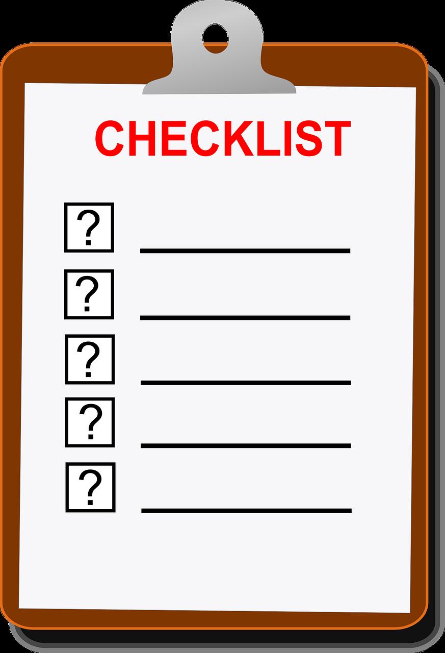 picture transaction coordinator checklist
