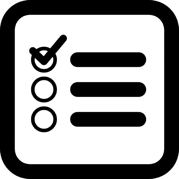 png stock Checklist Transparent Icon
