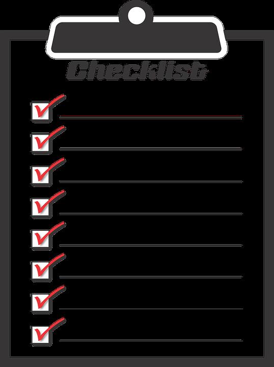 clip library download Process Portfolio Checklist