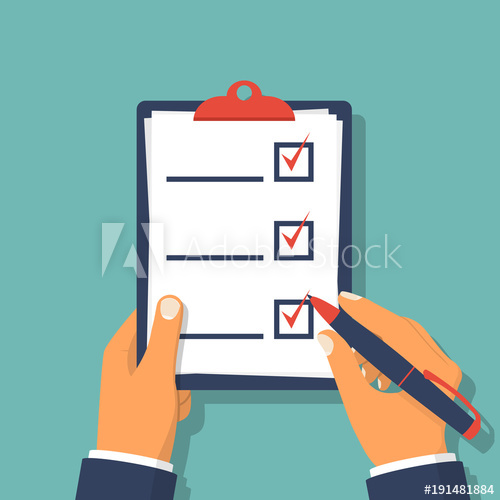 graphic royalty free stock Vector forms checklist. Clipboard human holding and