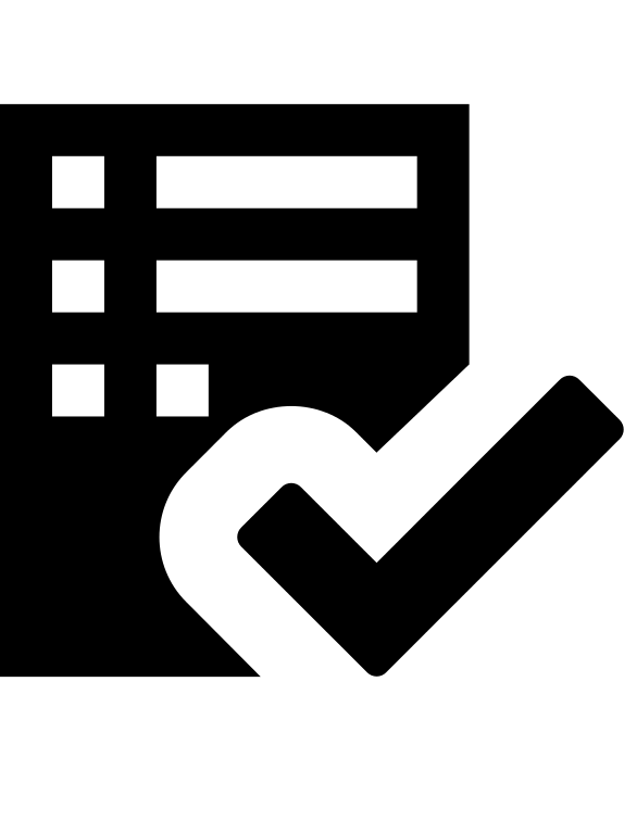 graphic stock checklist vector svg #91545235