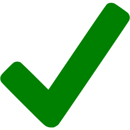 clipart transparent stock Green checkmark icon
