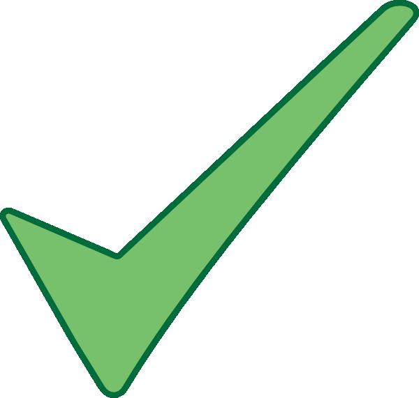 clip black and white stock Html Check Mark Symbol