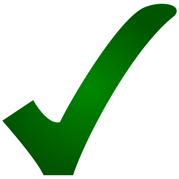 jpg royalty free Checkmark transparent yes. File check svg wikipedia.