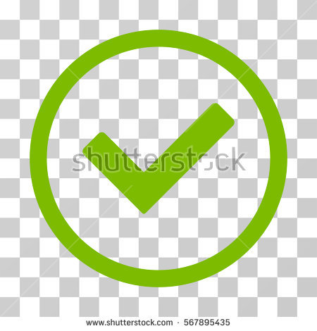 clip royalty free Green check mark icon. Checkmark transparent yes