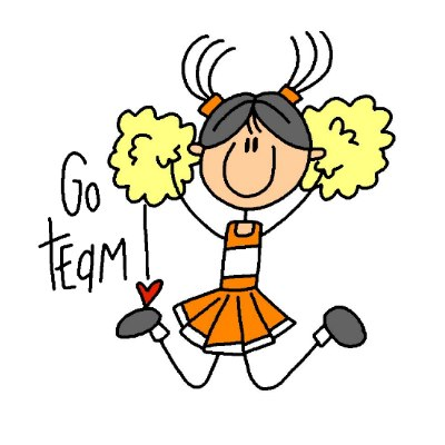 vector royalty free download Free clip art download. Cheerleader clipart.
