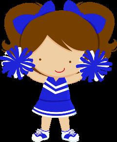 clip art freeuse stock Popular and trending stickers. Cheerleader clipart female cheerleader.