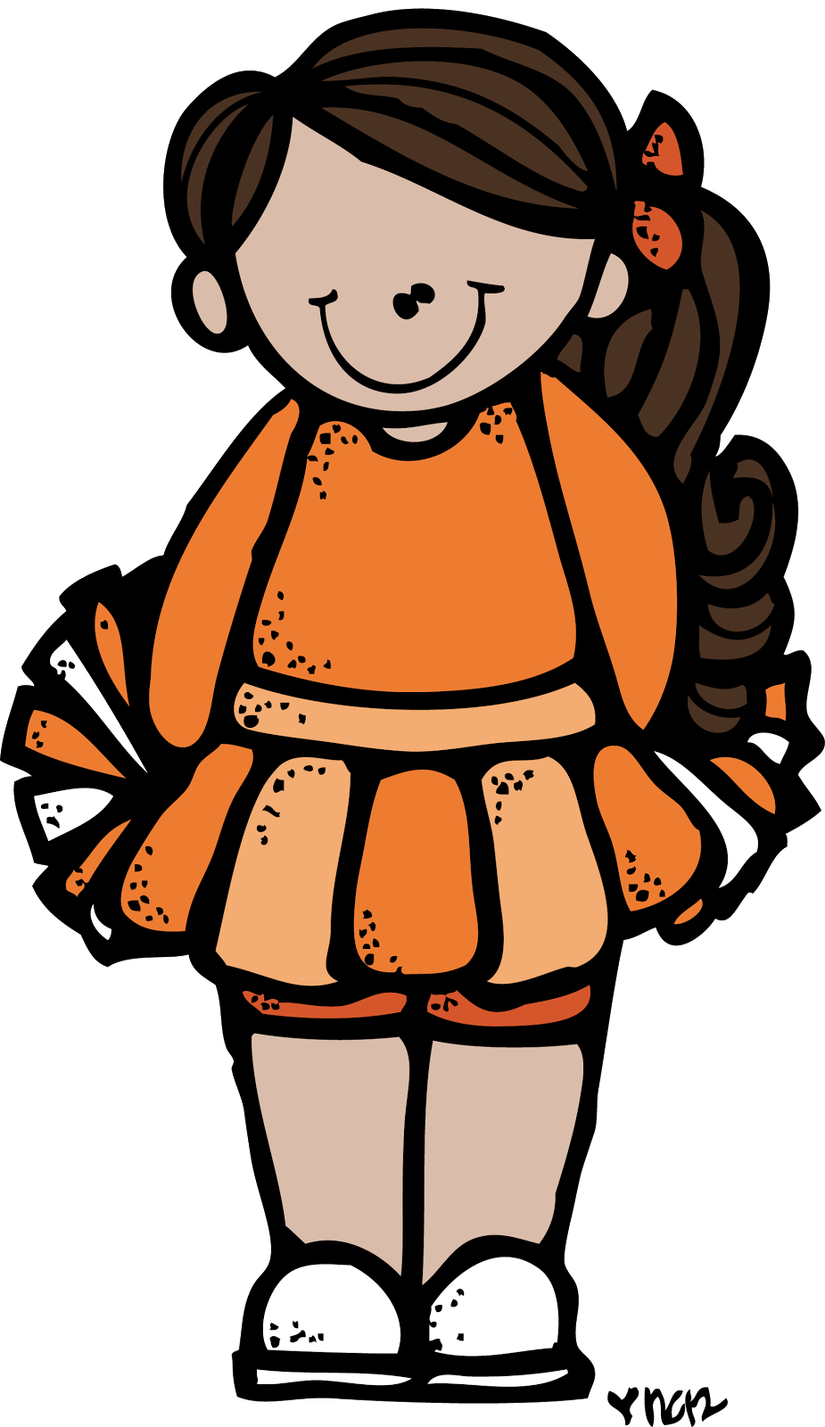 graphic free download Melonheadz colored png melonheads. Cheerleader clipart file.
