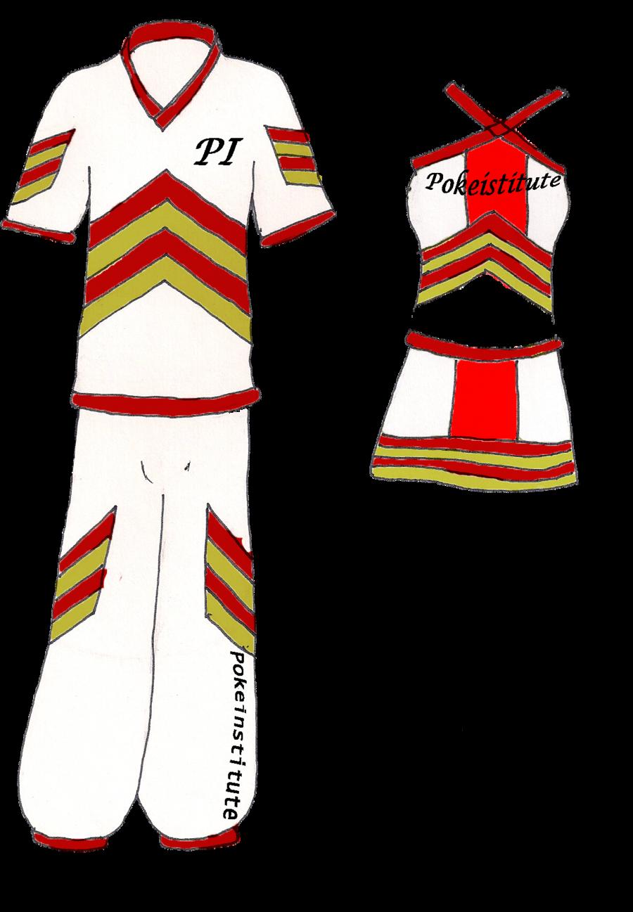 banner download Pokeinstitute cheerleading uniforms by nayru