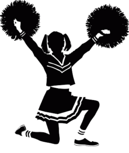 banner royalty free library Cheerleading clipart cheerleading coach. Injury prevention ssi physical.