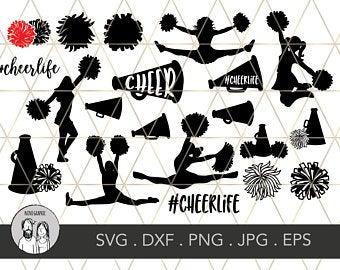 clipart free Cheerleading svg. Etsy