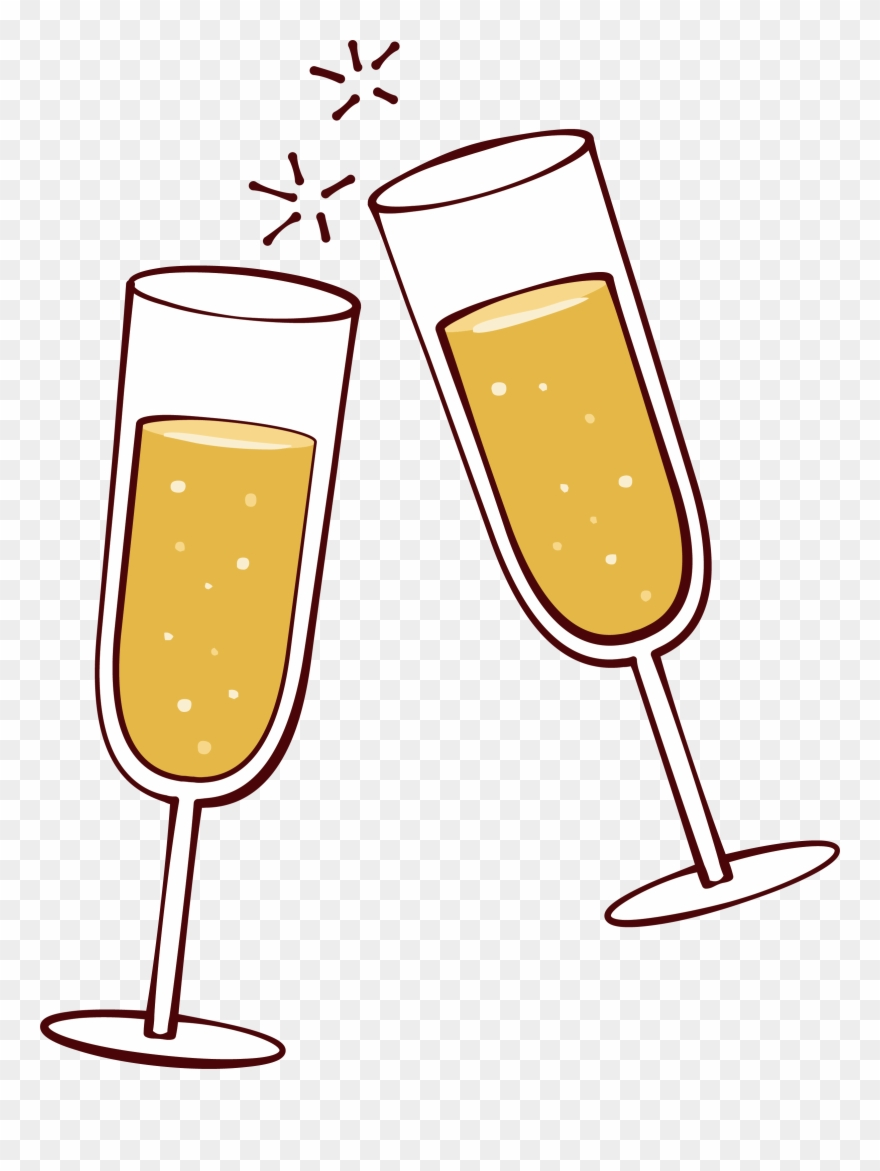clip art transparent stock Champaign clipart cheer. Picture freeuse library wine.