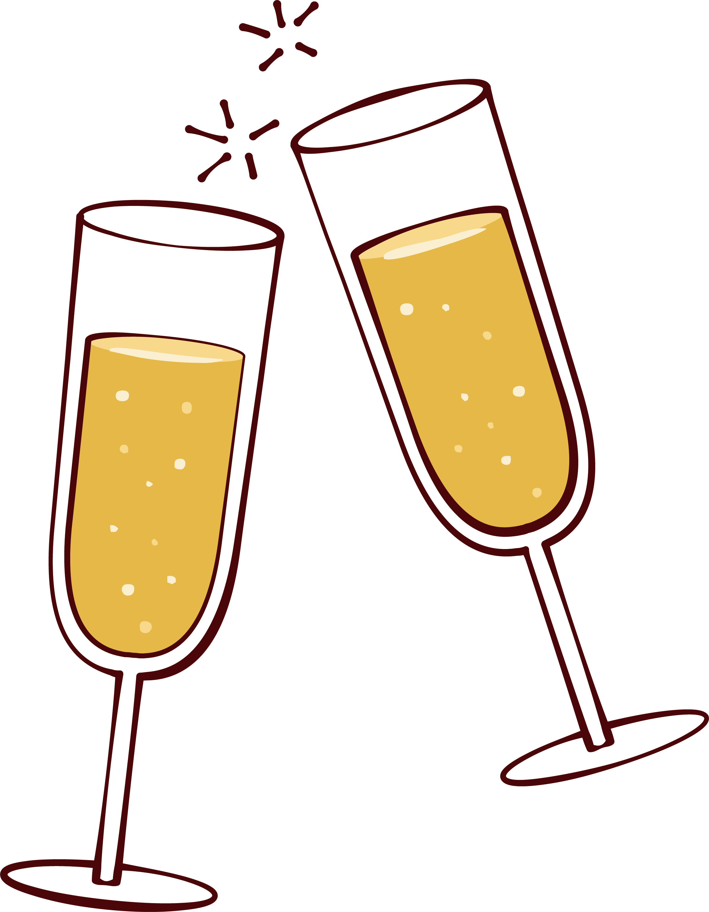 png free stock Wine glass clip art. Cheers clipart.