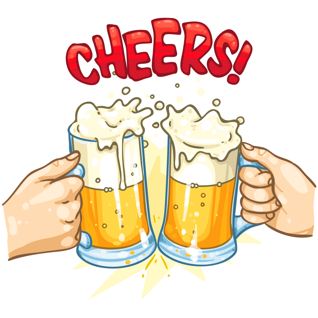 image transparent Item detail itembrowser. Cheers clipart beer food.