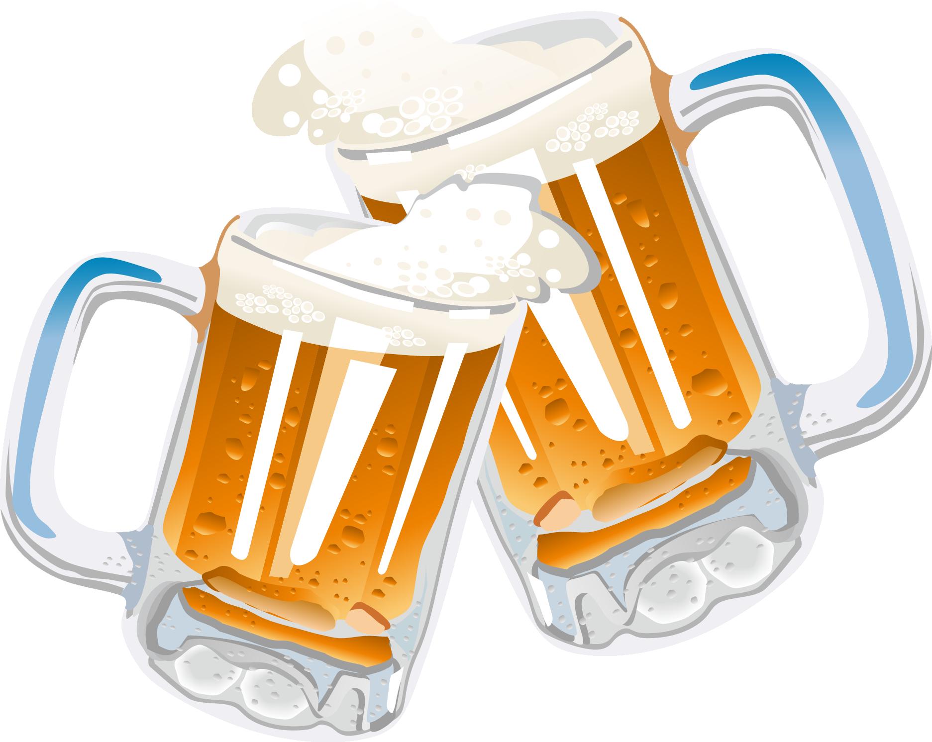 svg transparent Cheers clipart beer food. Glassware drink clip art.