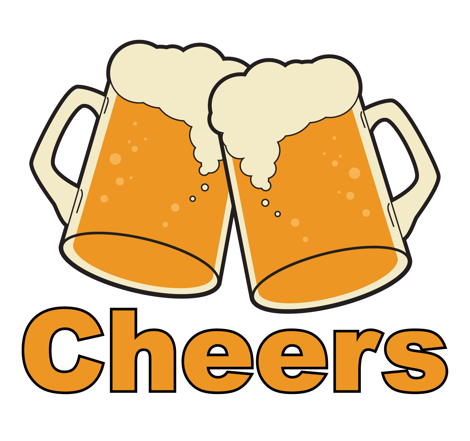 vector royalty free library cheers vector beer mug #91570901