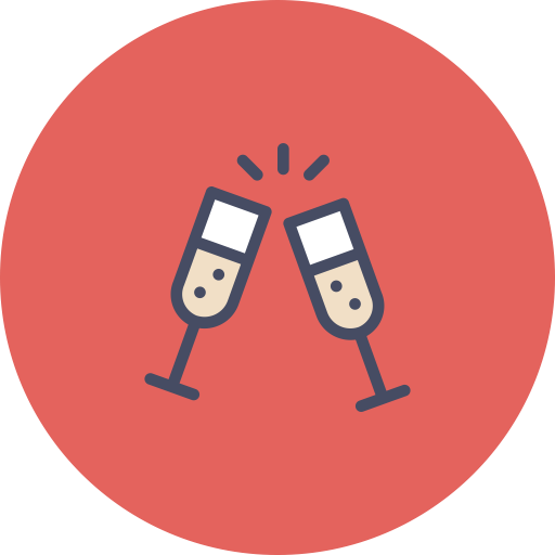 image freeuse Cheers clipart party. Treat icon png ico.