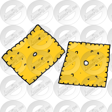 clip royalty free download Cheese Crackers Picture for Classroom