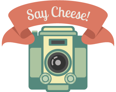 vector royalty free download Cheese clipart camera. Say wall sticker tenstickers.