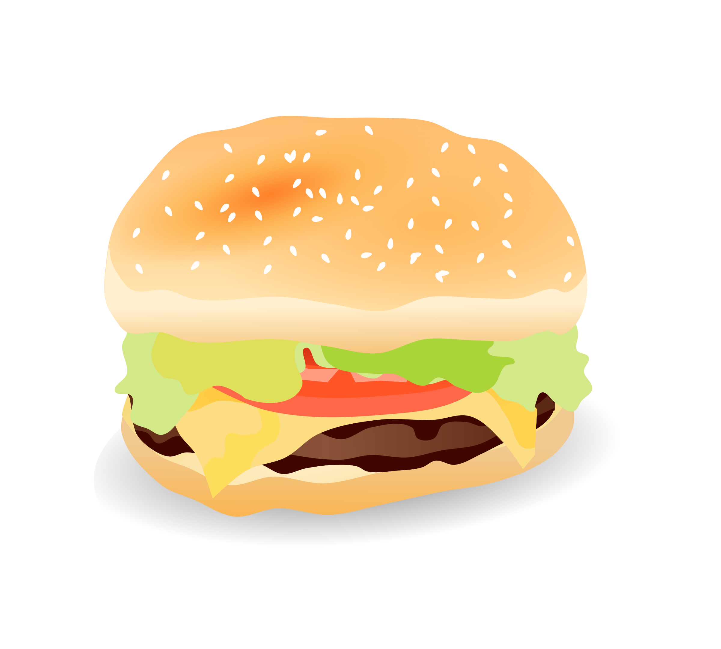 banner library download Vector burger transparent. Clipart cheeseburger big image