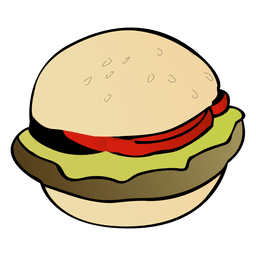 picture free library Burgers logo transparent png. Vector burger top view