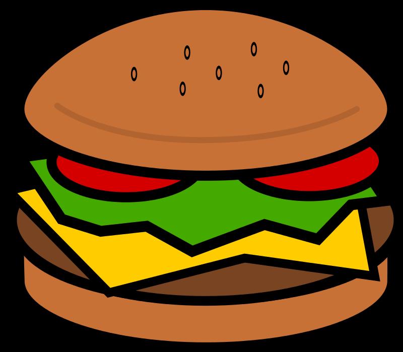 clipart library download Image of cheeseburger clip. Hamburger clipart