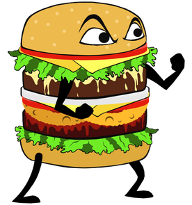 image library library Monster free on dumielauxepices. Hamburger clipart vegetarian burger