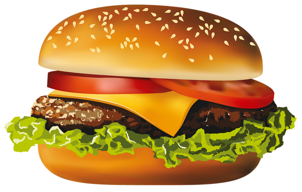 vector royalty free download Hamburger png vector clipart. Cheeseburger drawing graffiti
