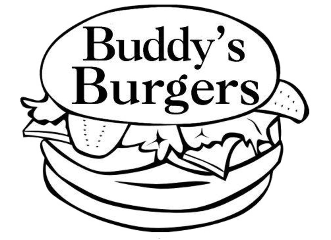 free Buddy s burgers delivery. Cheeseburger drawing geometric