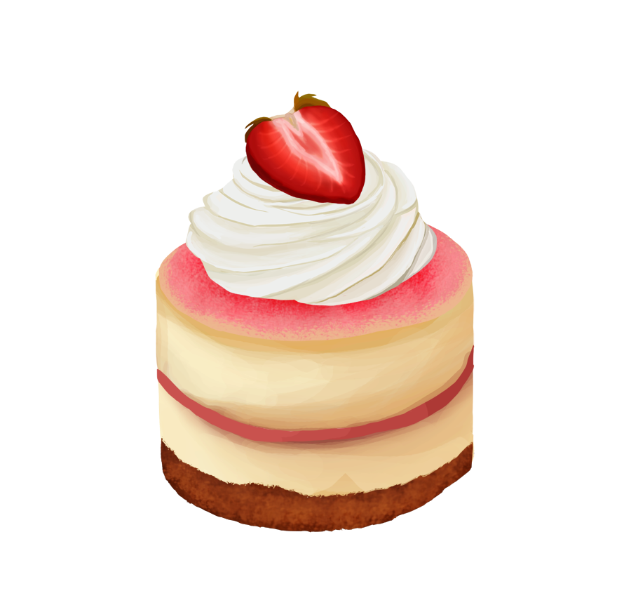 image  day berry by. Cheesecake drawing