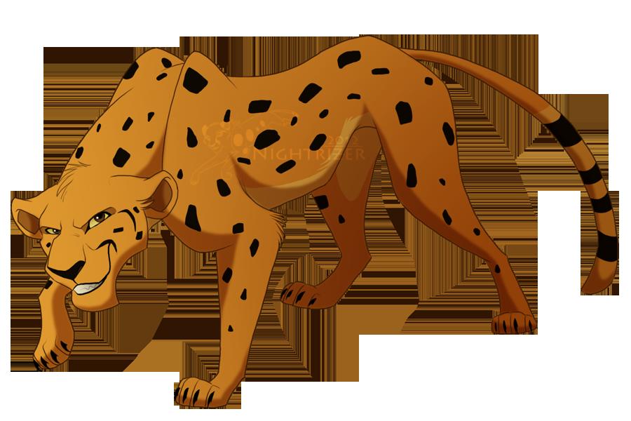 transparent stock Cheetah clipart cheetah cub. King drawing at getdrawings.