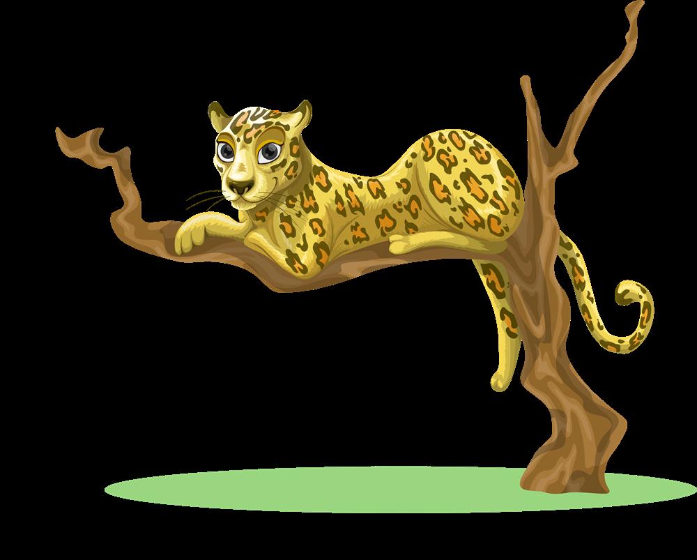 clip stock Leopard free on dumielauxepices. Cheetah clipart rainbow.