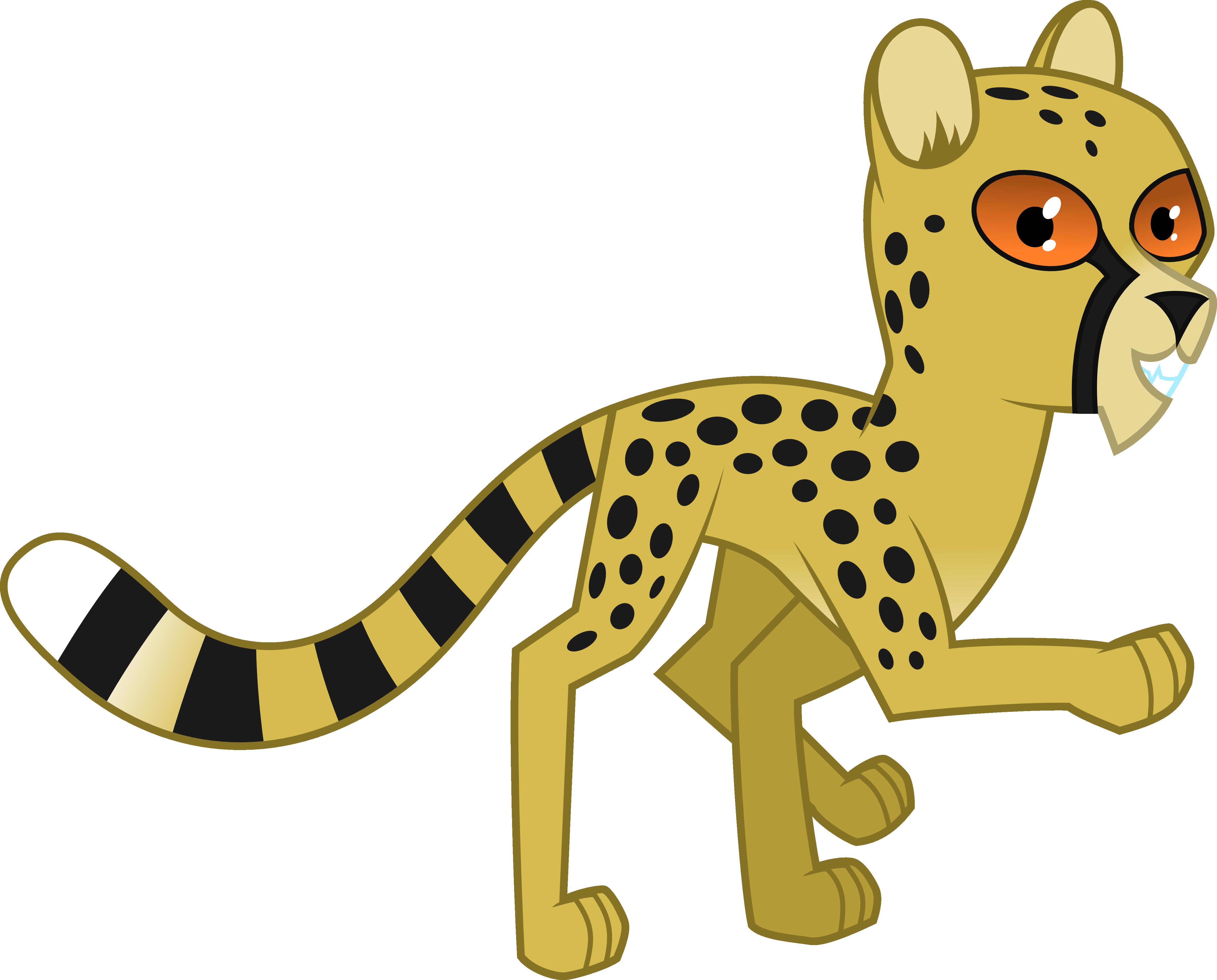 svg royalty free download Cheetah Running Clipart at GetDrawings