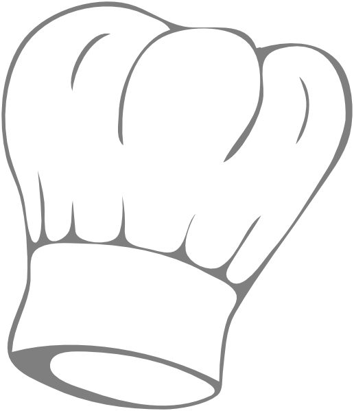 banner library download Chef hat clip art. Cook drawing sketch